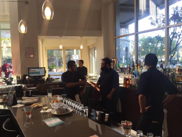 The bar serves up quality signature cocktails. Arclight Culver City